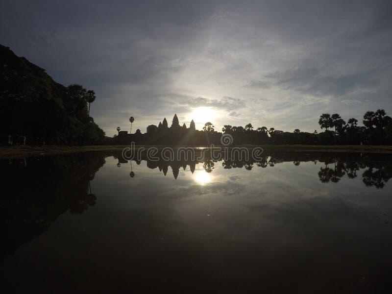 Angkor Wat bonito imagem de stock royalty free