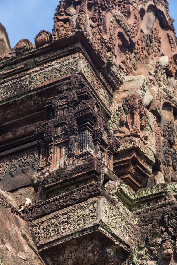 Angkor Wat Buddhist Temple imagem de stock royalty free