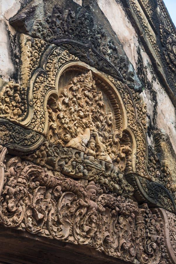 Angkor Wat Buddhist Temple foto de stock royalty free