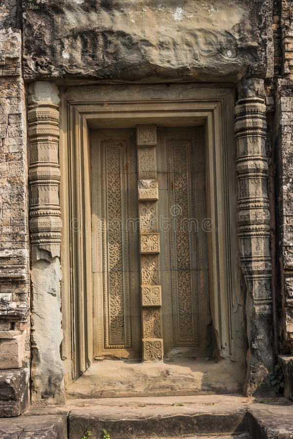 Angkor Wat Buddhist Temple fotografia de stock