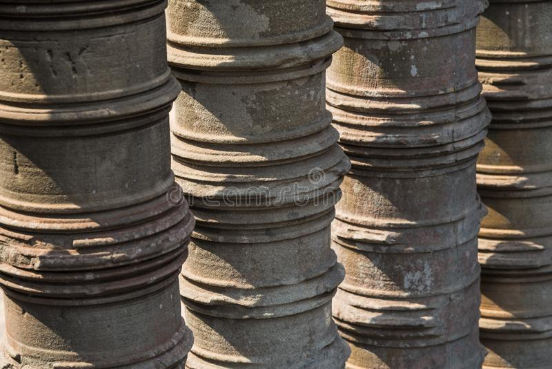 Angkor Wat Buddhist Temple fotos de stock royalty free