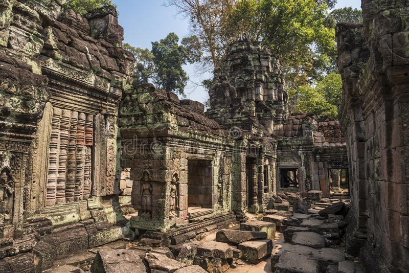 Angkor Wat Buddhist Temple imagens de stock royalty free