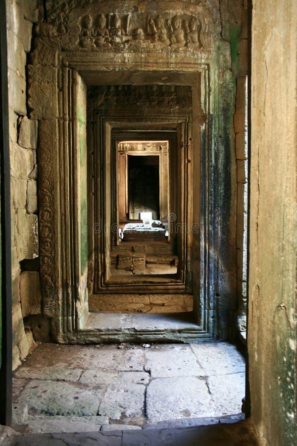 Angkor wat-Cambodia royalty free stock photography