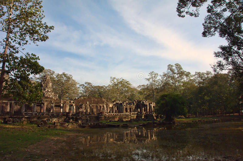 Download Angkor Wat of Cambodia stock photo. Image of attractions - 24647546