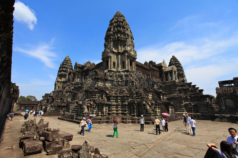 Angkor wat,Cambodia stock photography