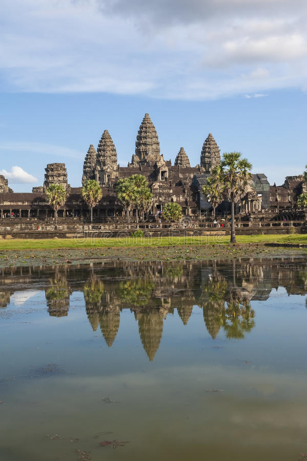 Angkor Wat Cambodia imagens de stock royalty free