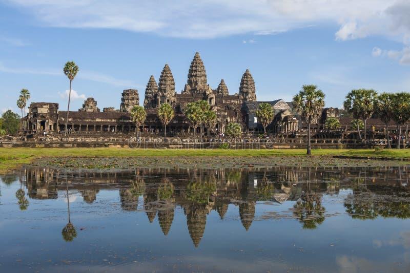 Angkor Wat Cambodia foto de stock royalty free