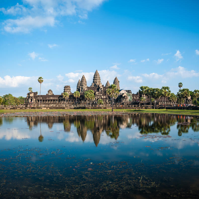 Angkor Wat Cambodia stock photography