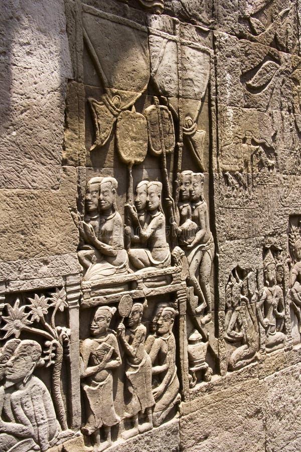 Angkor Wat - Cambodja arkivbild