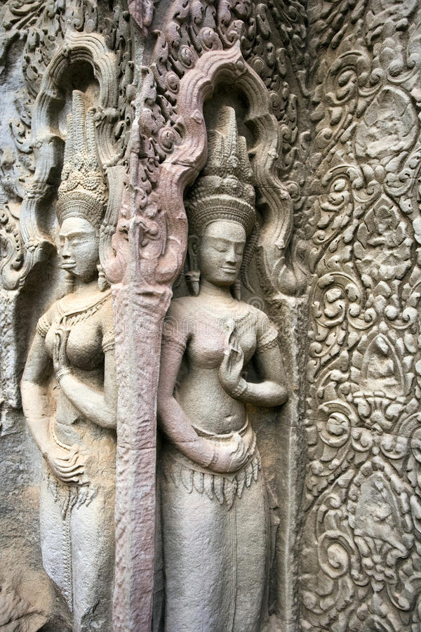 Angkor Wat - Cambodja royaltyfri fotografi