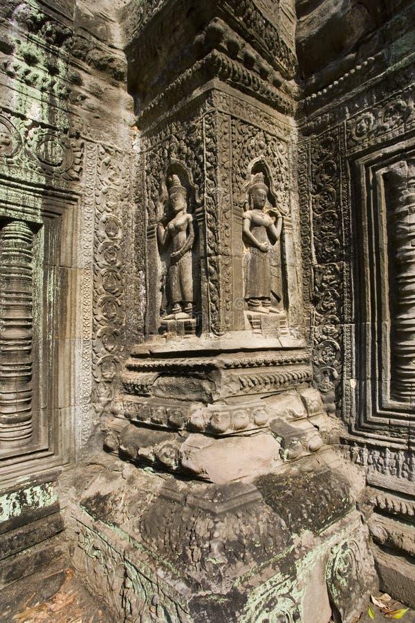 Angkor Wat - Cambodja royaltyfri foto