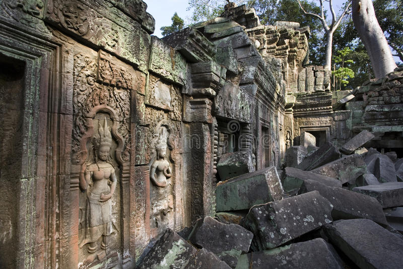 Angkor Wat - Cambodja arkivbilder