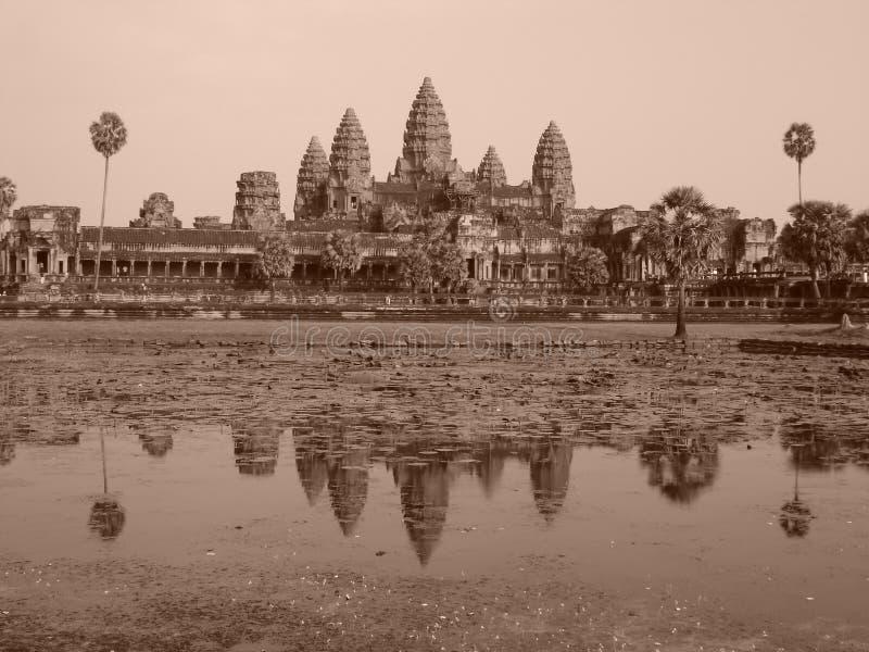 Angkor Wat, Cambodja royaltyfria bilder