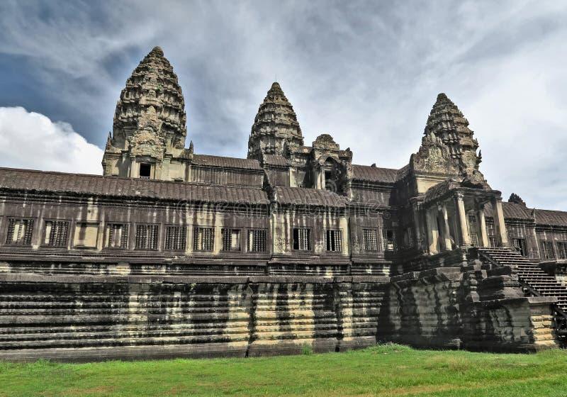 Angkor Wat in Cambogia immagini stock libere da diritti