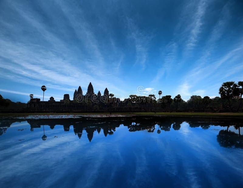 Angkor Wat Camboya Templo antiguo fotografía de archivo libre de regalías