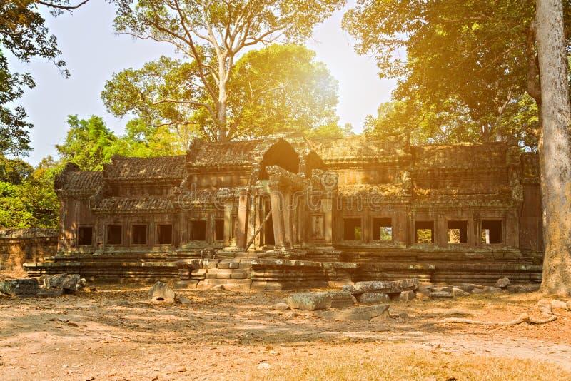 Angkor Wat, complejo del templo del Khmer, Asia Centro de la ciudad de Siem Reap, Camboya fotos de archivo libres de regalías