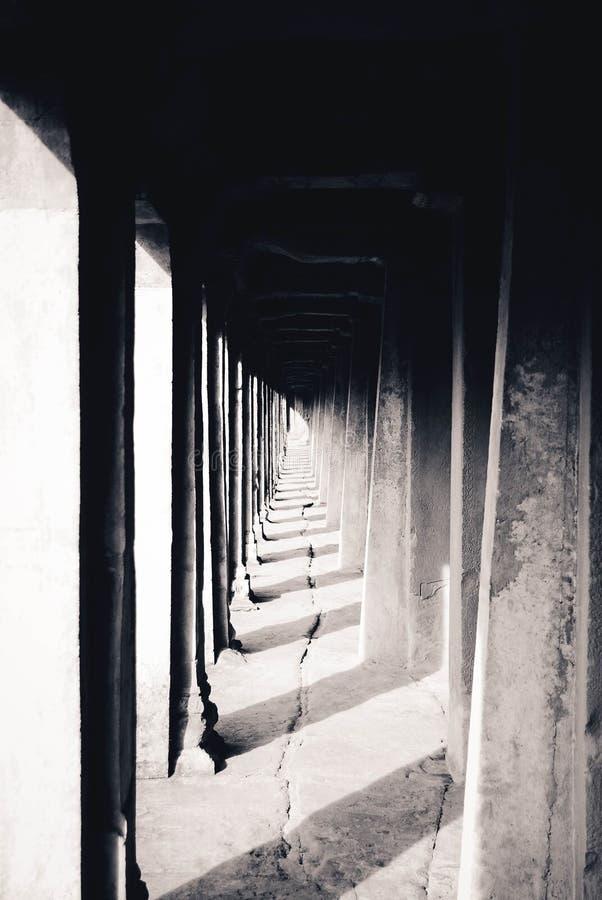 Angkor Wat Em Cambodia Fotos de Stock Royalty Free