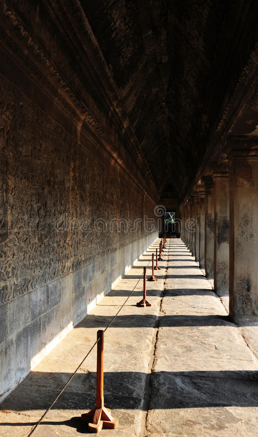 Download Angkor Wat itself stock photo. Image of corridor, angkor - 15467526