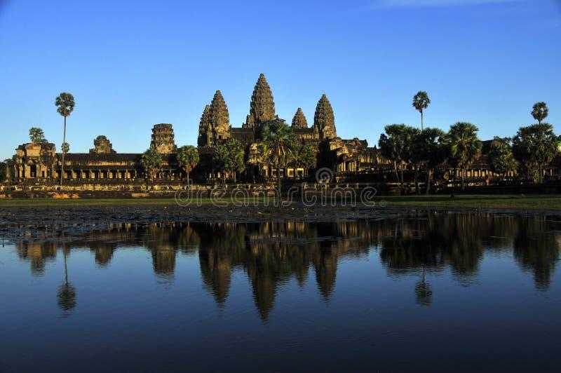 Angkor Wat, Kambodja royalty-vrije stock afbeeldingen