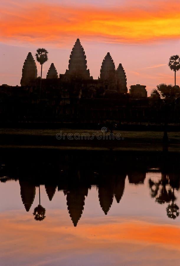 Angkor Wat- Kambodja royalty-vrije stock foto