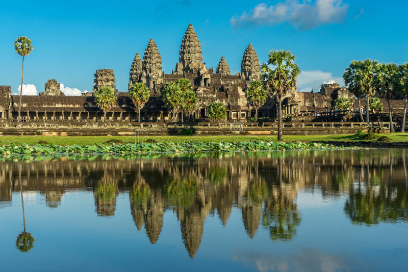 Angkor Wat Kambodja royalty-vrije stock foto