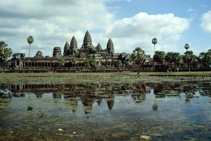 Angkor Wat - Kambodja stock afbeelding