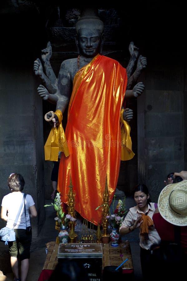 Free Angkor Wat Of Kampuchea Royalty Free Stock Photos - 51646648