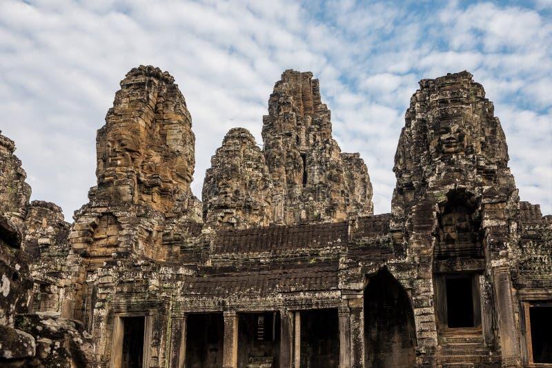 Angkor Wat ?r ett tempelkomplex i Siem Reap, Cambodja royaltyfria foton