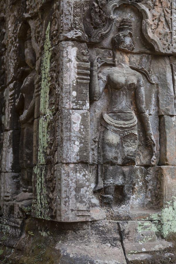Angkor Wat rujnuje n Kambodża fotografia royalty free