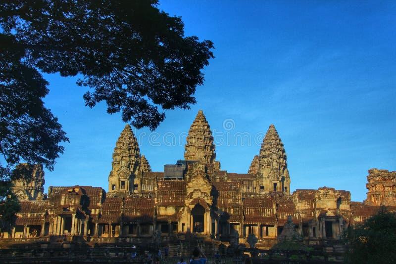 Angkor Wat - Siem Reap, Камбоджа стоковые изображения rf