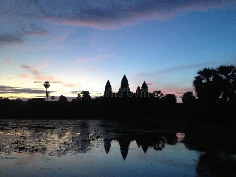Angkor Wat, Siem Reap, Cambodge photo stock
