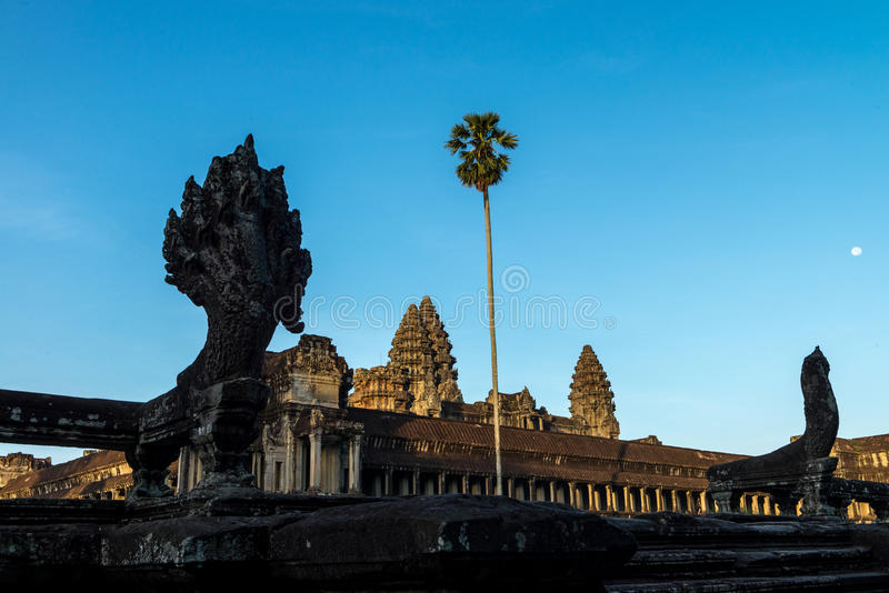 Angkor Wat Siem Reap, Kambodja royalty-vrije stock afbeeldingen