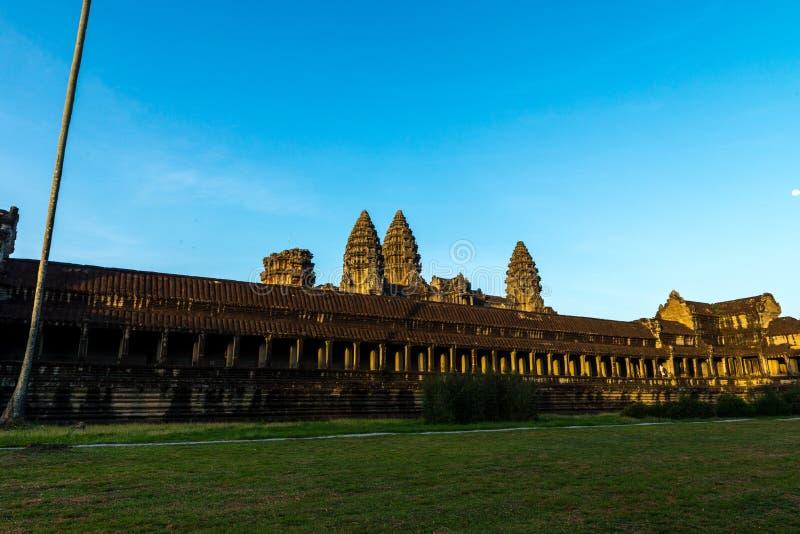 Angkor Wat Siem Reap, Kambodja royalty-vrije stock foto