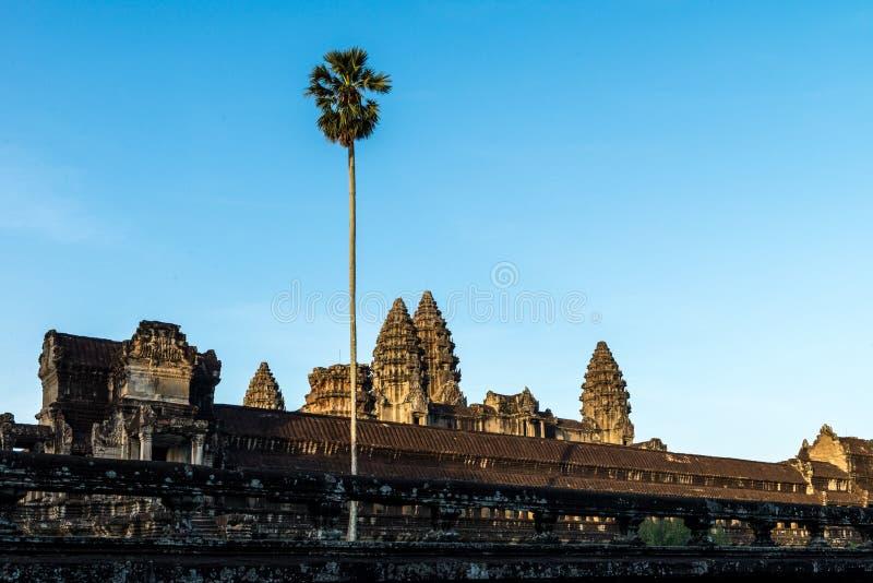 Angkor Wat Siem Reap, Kambodja stock fotografie
