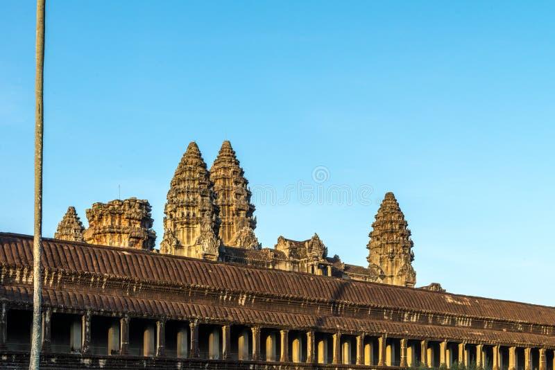 Angkor Wat Siem Reap, Kambodja royalty-vrije stock afbeelding