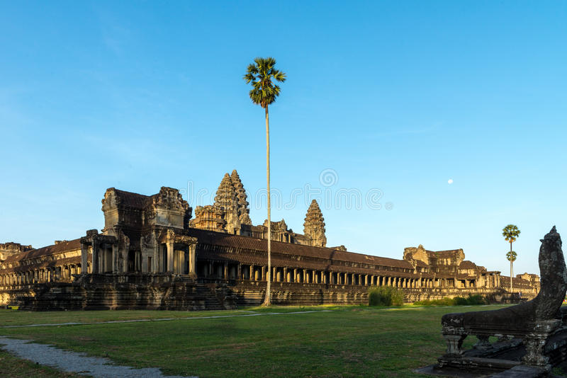 Angkor Wat Siem Reap, Kambodja stock afbeeldingen