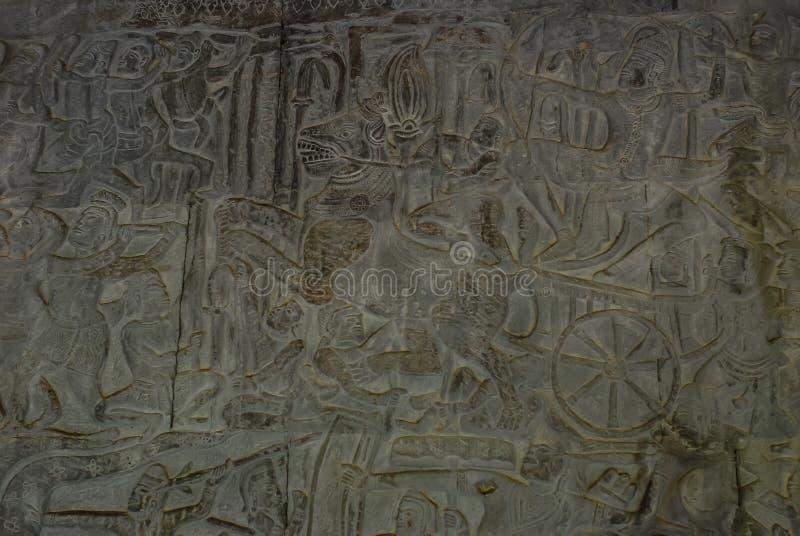 Angkor Wat, Siemreap, Καμπότζη στοκ εικόνες με δικαίωμα ελεύθερης χρήσης