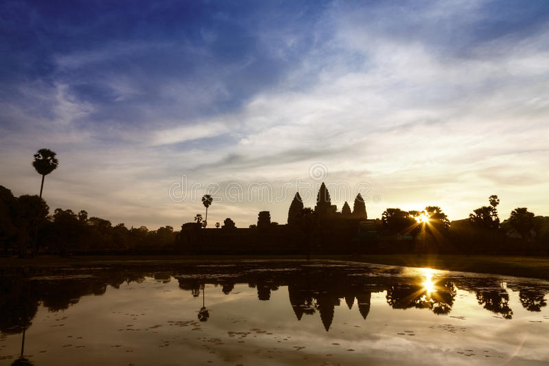 Download Angkor Wat sunrise stock image. Image of heritage, clouds - 28085625