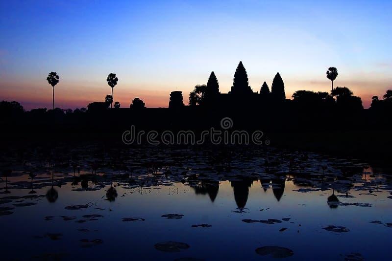 Angkor Wat Sunrise stock photos
