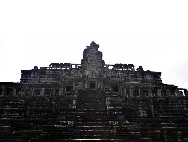 Angkor Wat tempel, Siem Reap, Cambodja royaltyfri foto