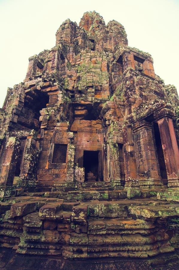 Angkor Wat (tempiale di Bayon) fotografie stock libere da diritti