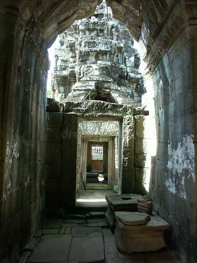Angkor Wat temple royalty free stock photos