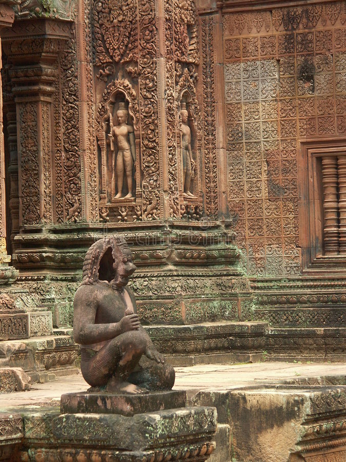 Angkor Wat temple royalty free stock photo