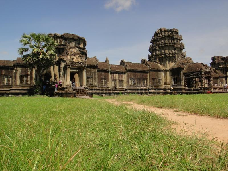 Angkor Wat temple Cambodia royalty free stock image