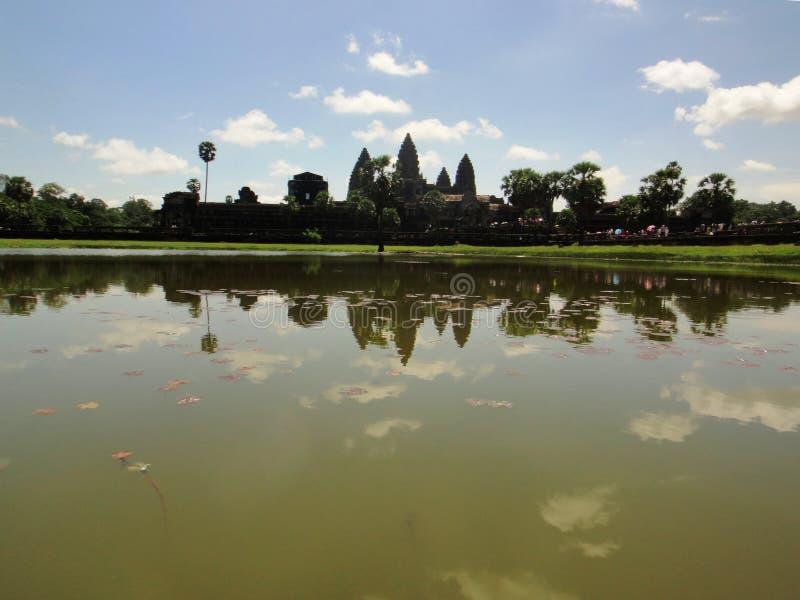Angkor Wat temple Cambodia royalty free stock photos