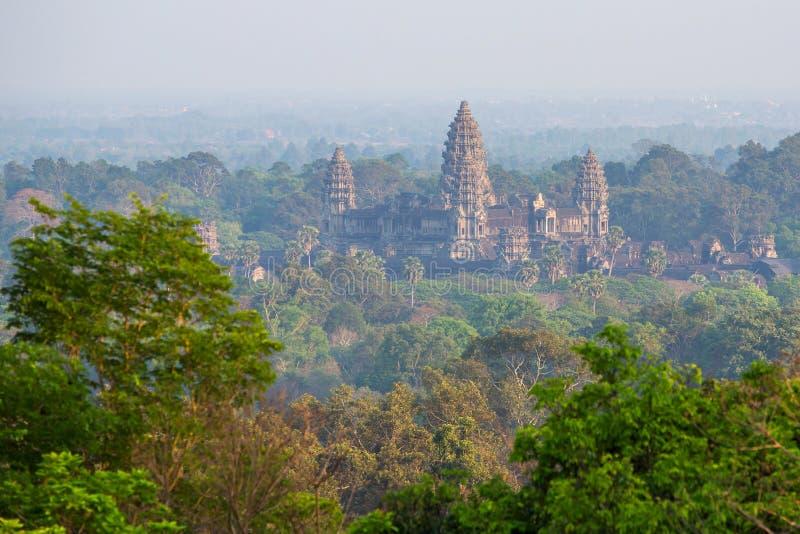 Angkor Wat Temple, Siem Reap arkivbilder