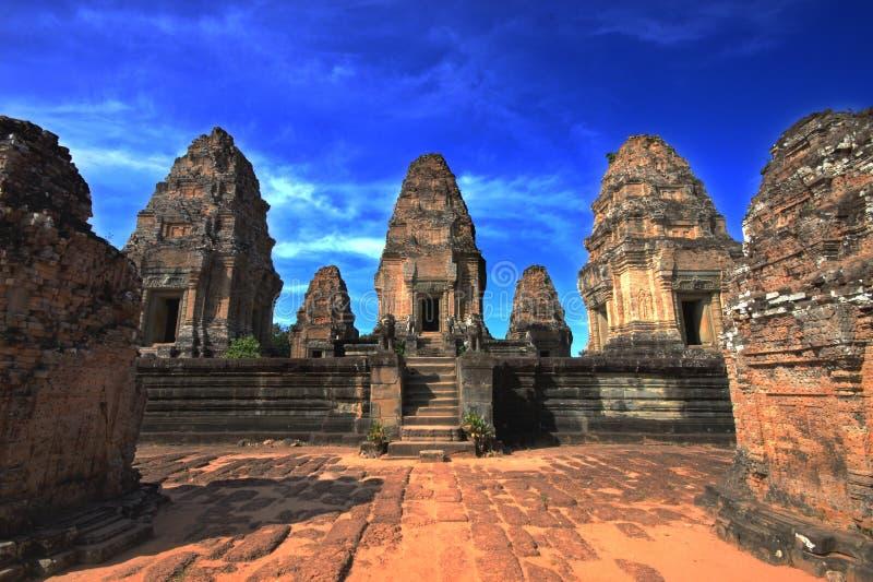 Angkor Wat Temples. Rajendravarman ii temple at Angkor Wat temples complex royalty free stock photos