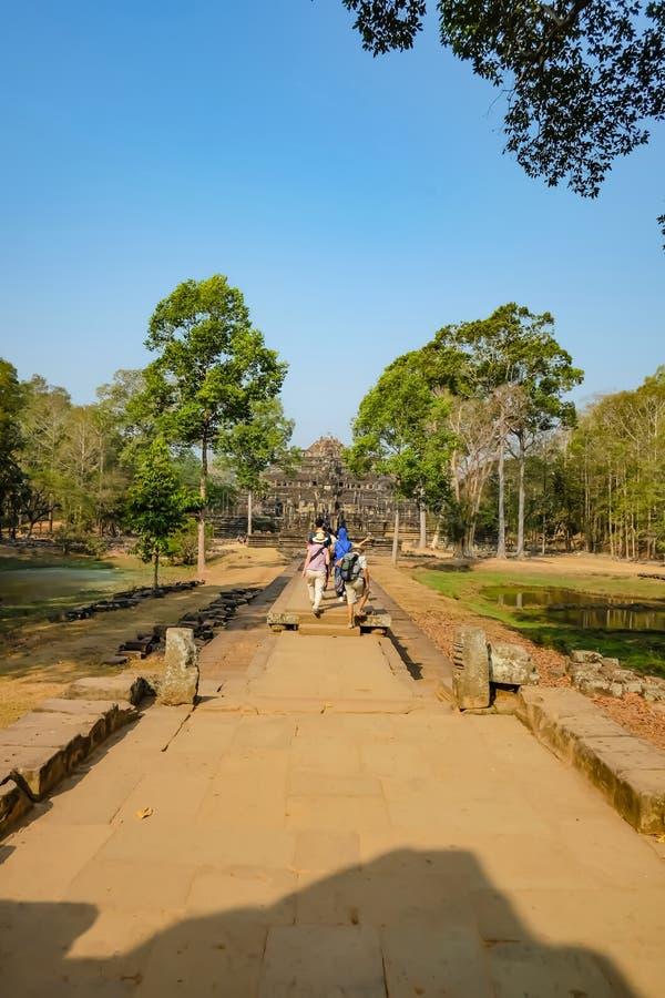 Angkor Wat Angkor Thom Siem Reap royaltyfri foto