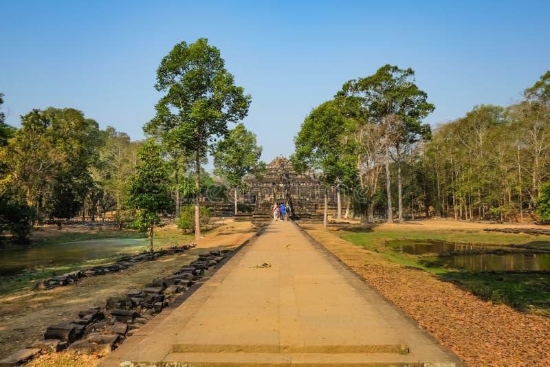 Angkor Wat Angkor Thom Siem Reap royaltyfri fotografi