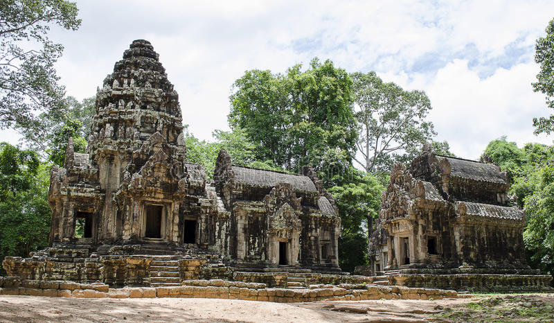 Download Angkor wat thommanon stock image. Image of religion, history - 25092733